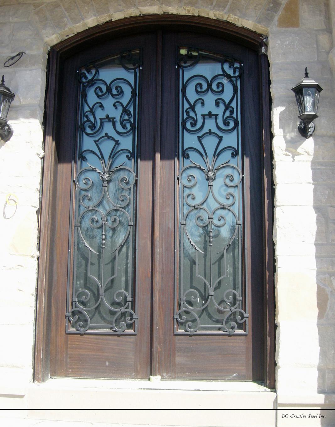 Custom Wrought Iron Work For Doors And Windows  Toronto